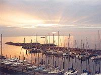 Vacances dans votre maison au nord de l'Allemagne, à Rügen sur la Baltique: le port de Lohme